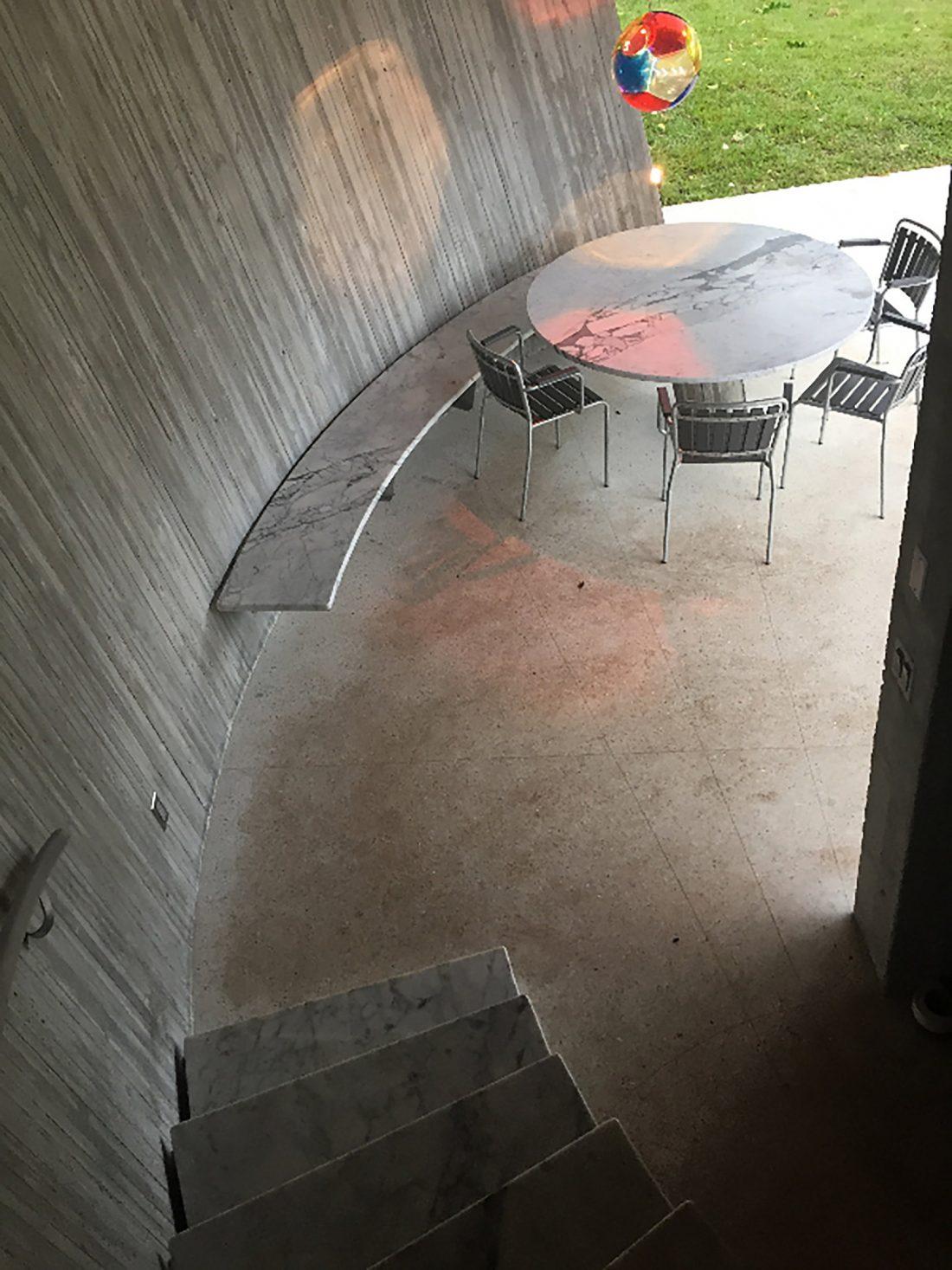 Дом Sun Path House в солнечном Майами Бич, США по проекту Christian Wassmann 15