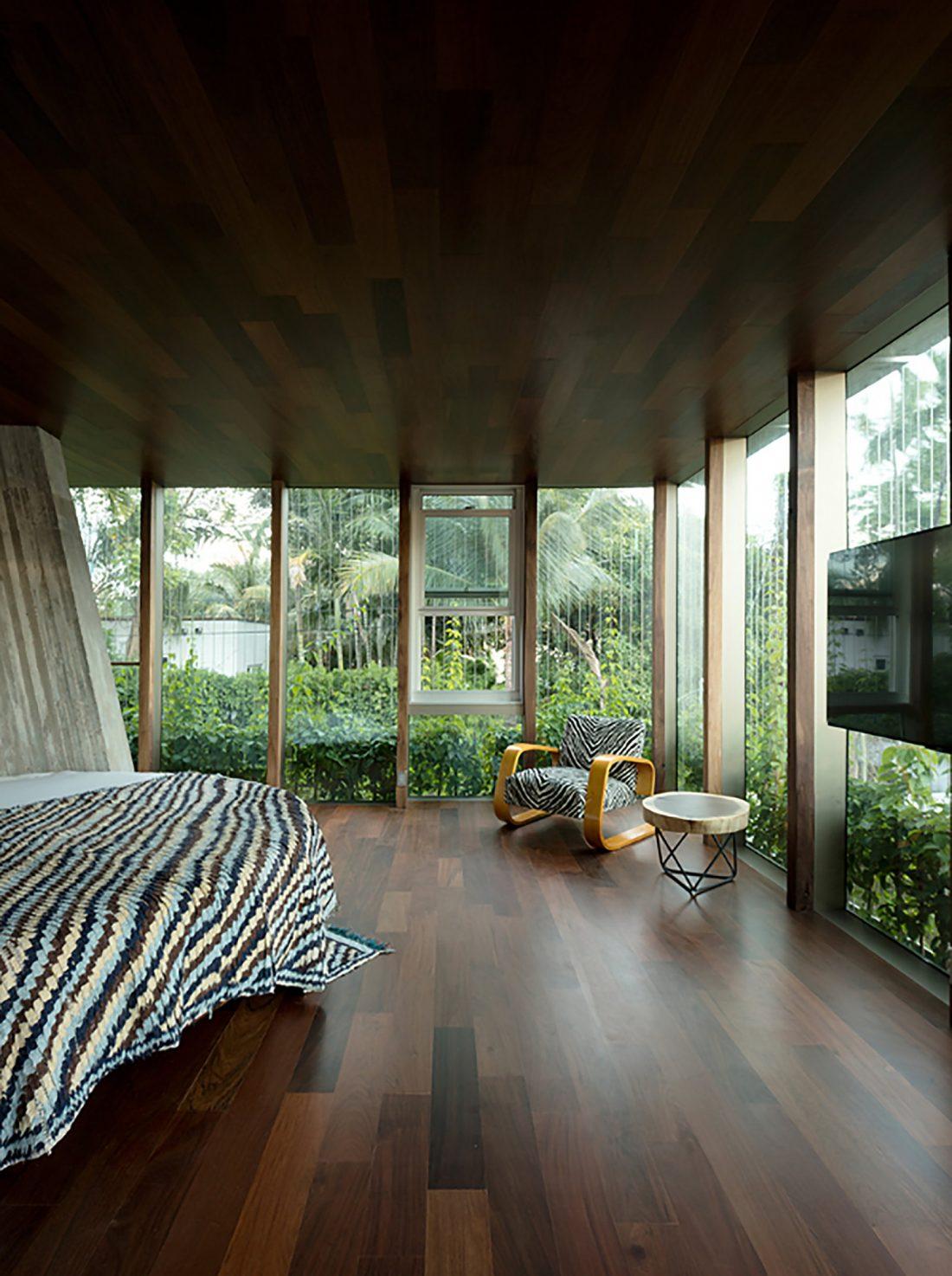 Дом Sun Path House в солнечном Майами Бич, США по проекту Christian Wassmann 16