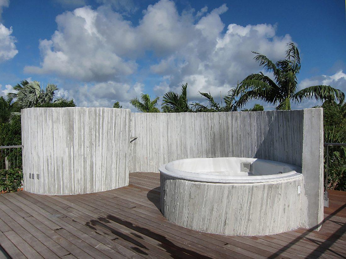 Дом Sun Path House в солнечном Майами Бич, США по проекту Christian Wassmann 7