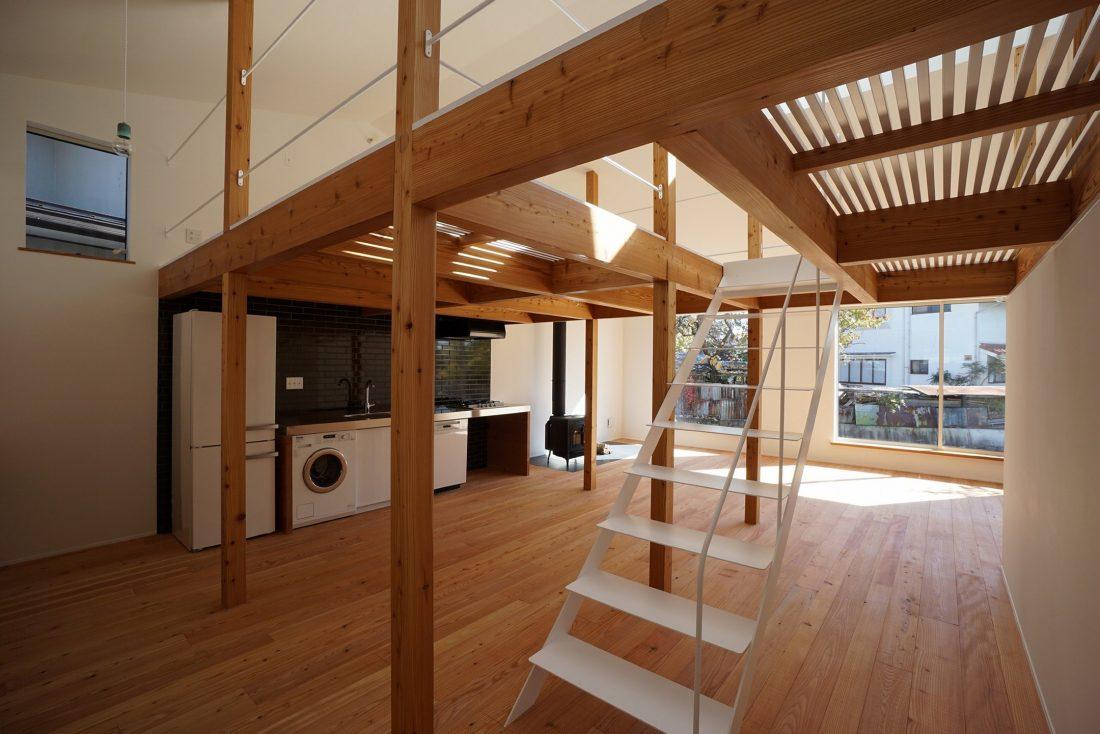 Дом под названием Pettanco в Японии от студии Yuji Tanabe Architects 15