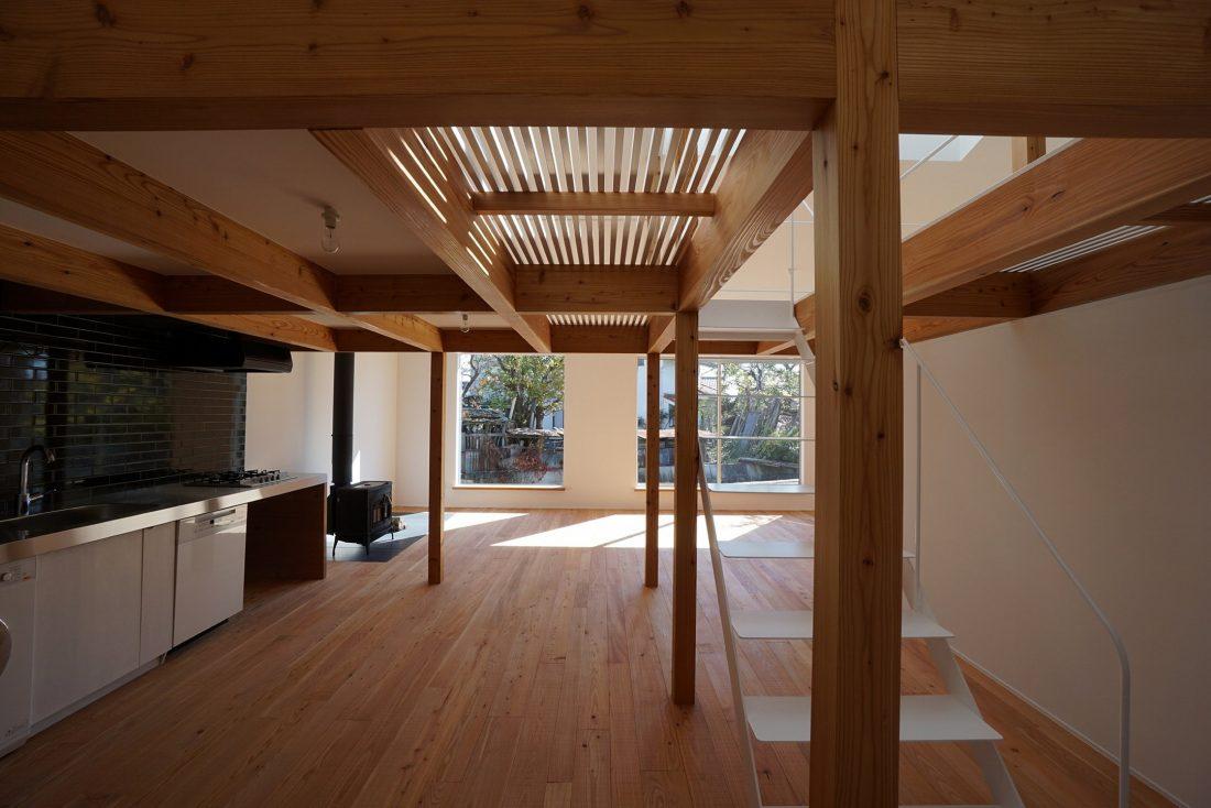 Дом под названием Pettanco в Японии от студии Yuji Tanabe Architects 16