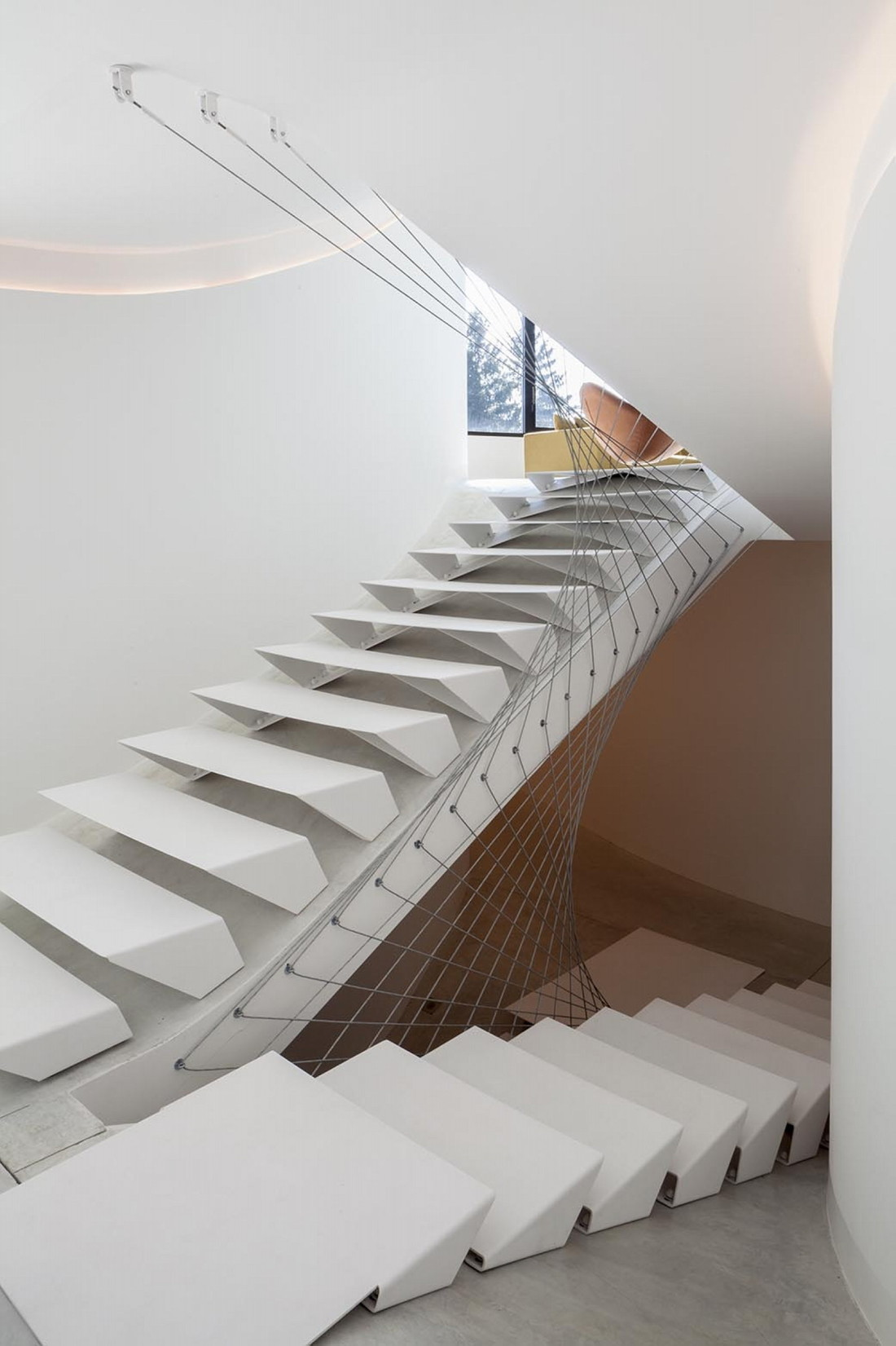 Футуристический дизайн виллы MQ в Бельгии от архитектурной студии Office O 11