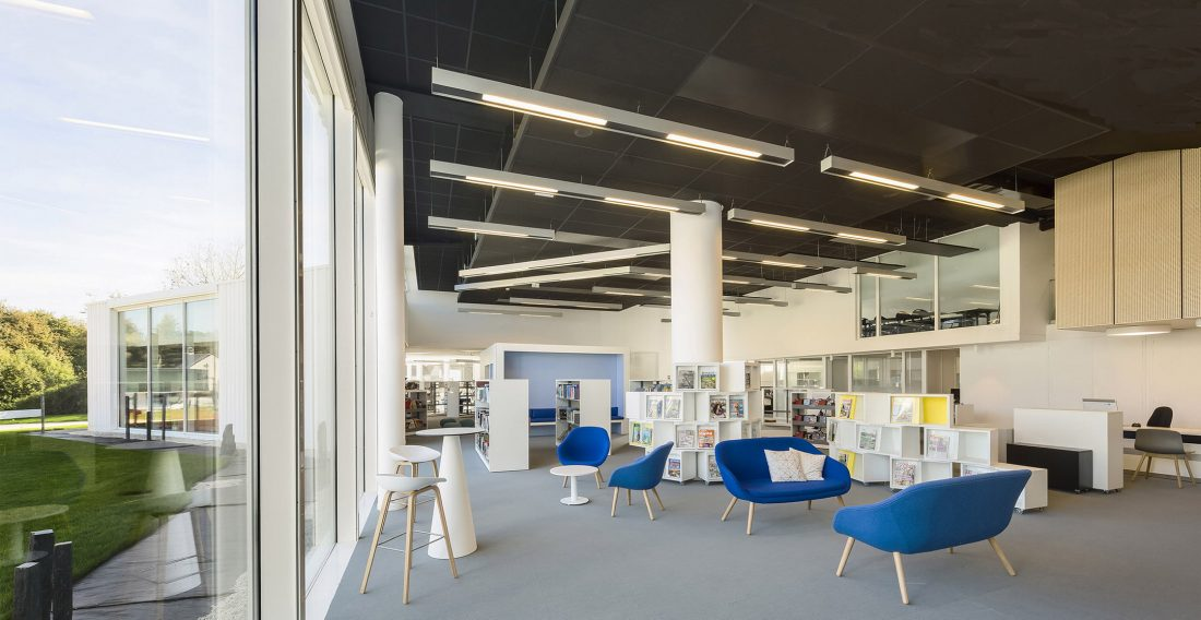 Культурный центр в Baud, Франция, от Studio 02 фото 10