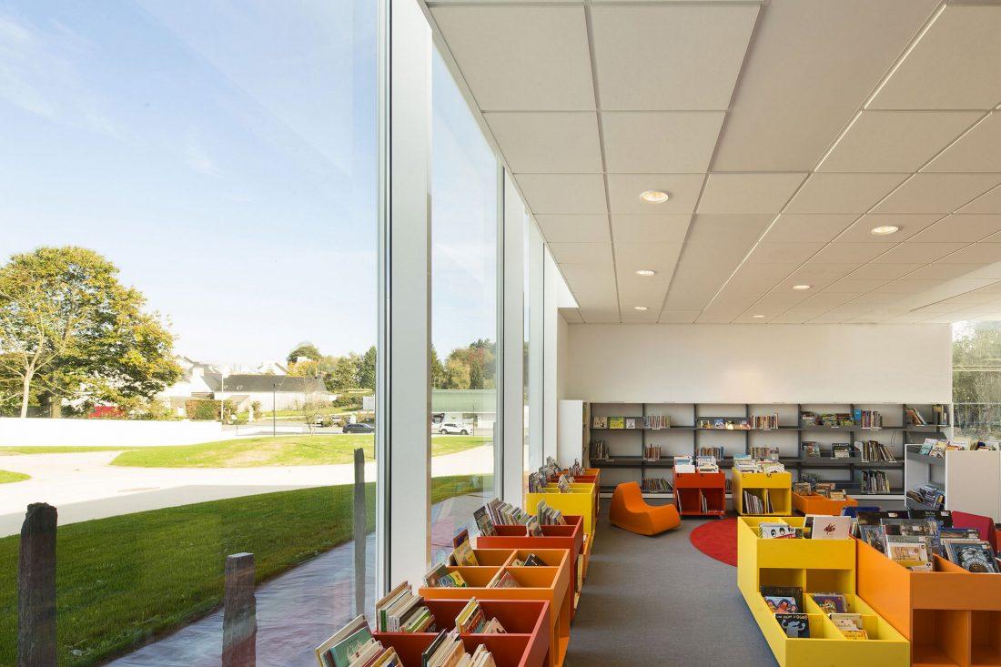 Культурный центр в Baud, Франция, от Studio 02 фото 11
