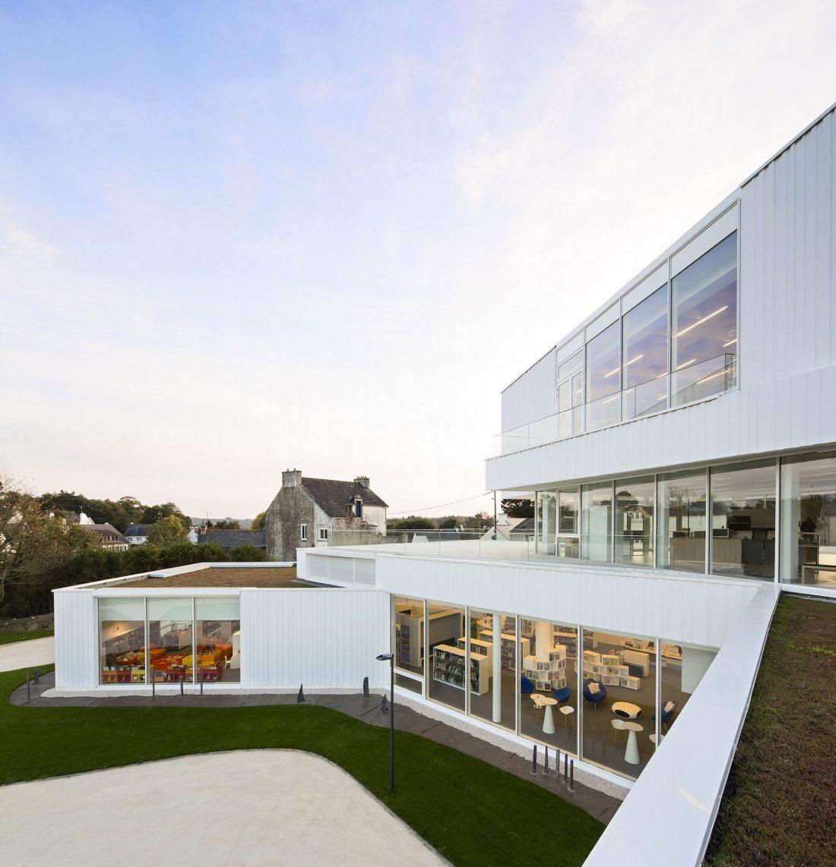 Культурный центр в Baud, Франция, от Studio 02 фото 3