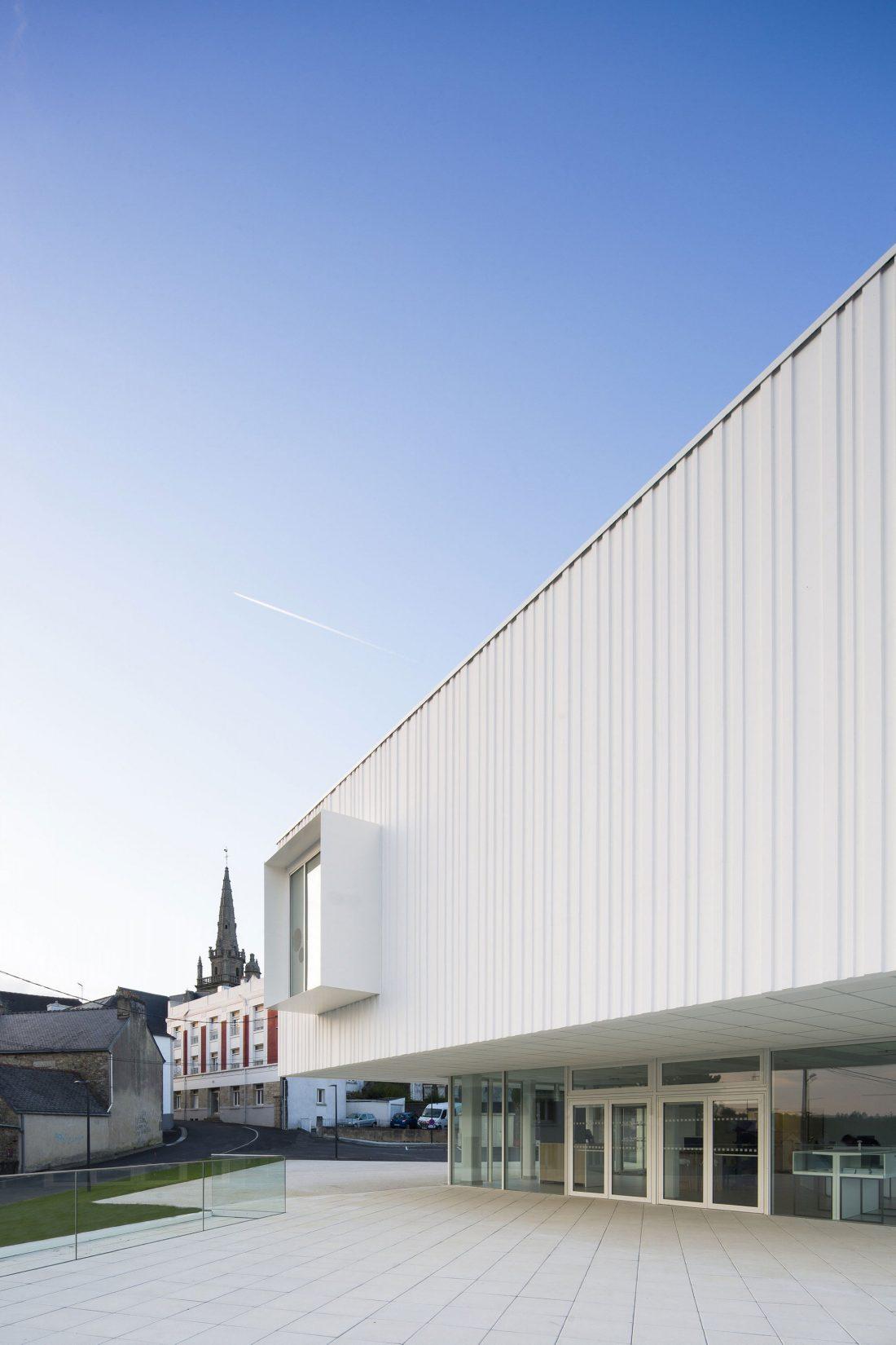 Культурный центр в Baud, Франция, от Studio 02 фото 5