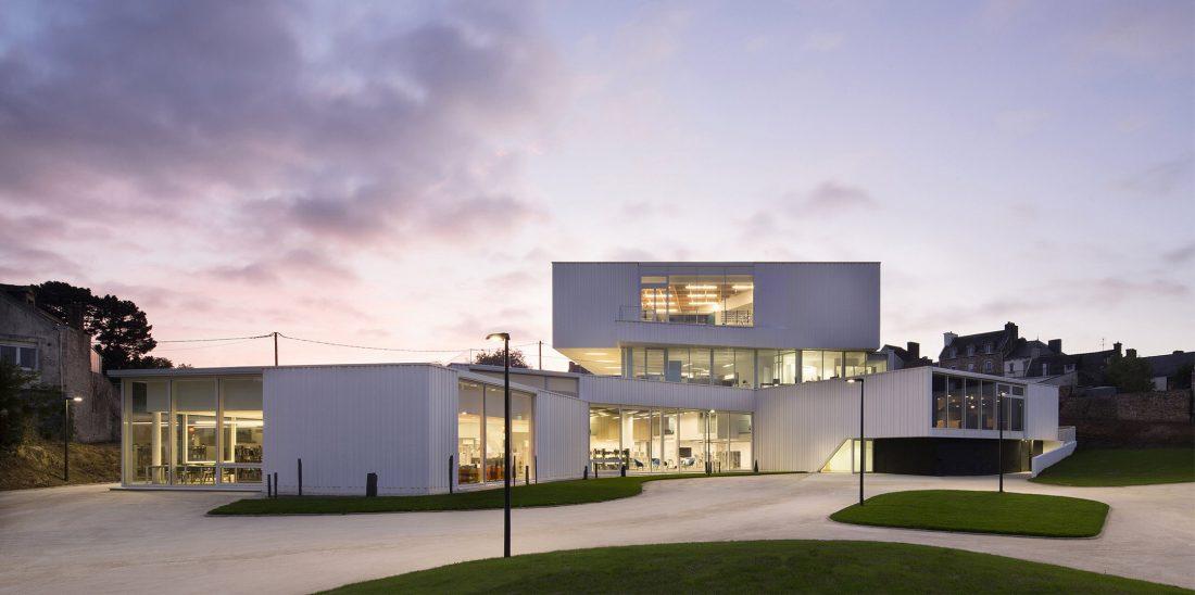 Культурный центр в Baud, Франция, от Studio 02 фото 6