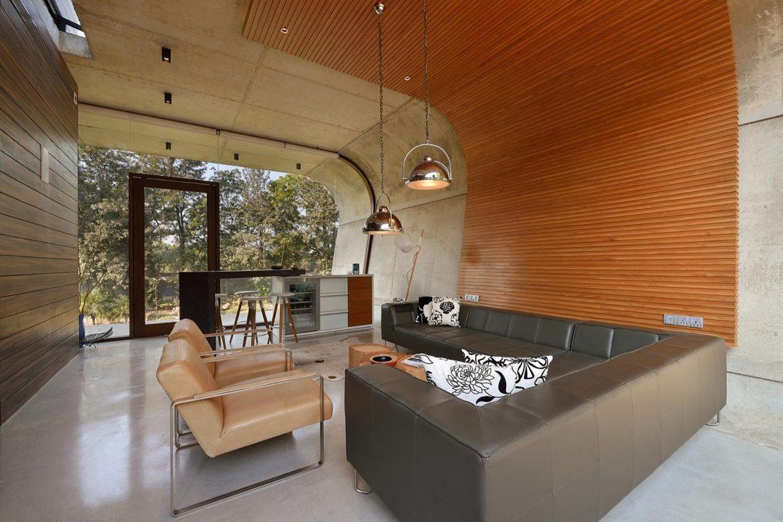 Необычный дом Pool House в Индии от студии 42mm Architecture 16