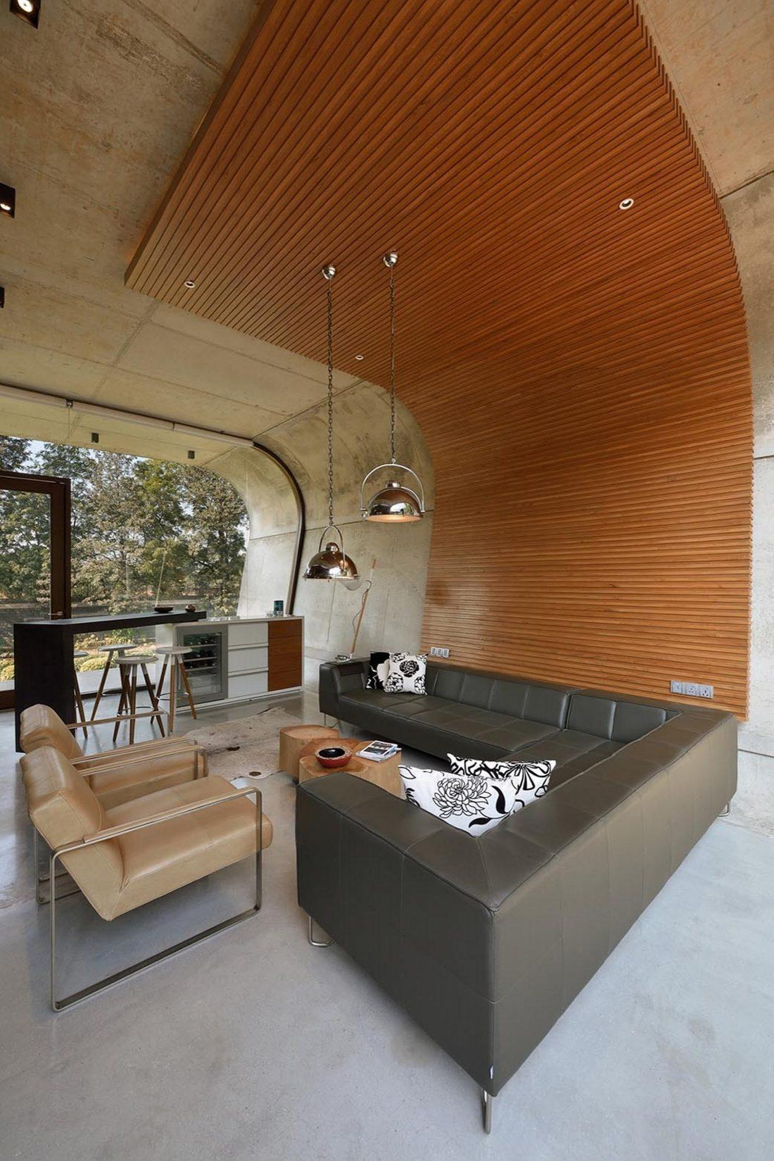 Необычный дом Pool House в Индии от студии 42mm Architecture 2