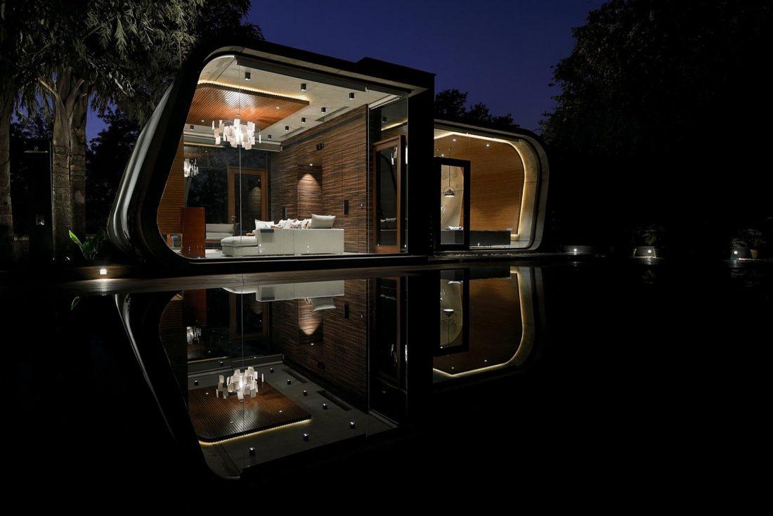Необычный дом Pool House в Индии от студии 42mm Architecture 8