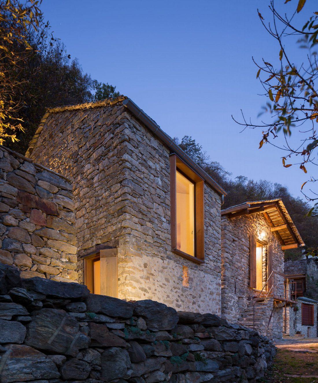 Реставрация старинного дома 16 века в Швейцарии по проекту Vudafieri Saverino Partners 7