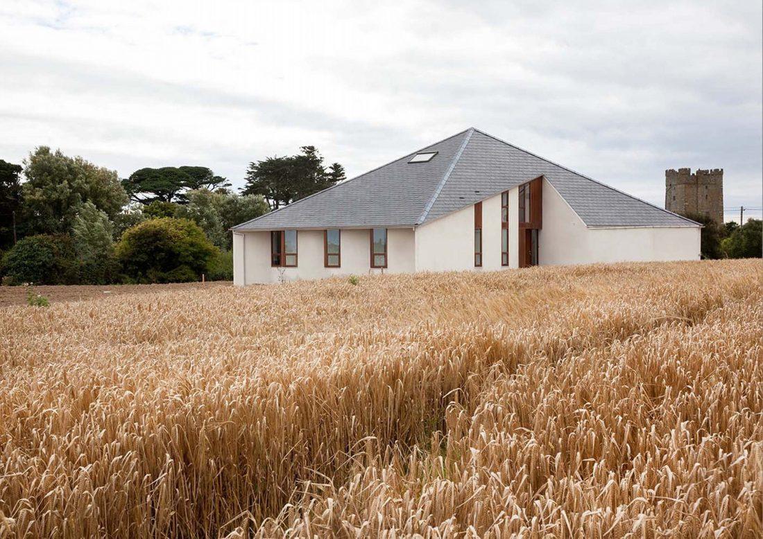 Сельский дом в Kilmore, Ирландия, от студии GKMP Architects 1