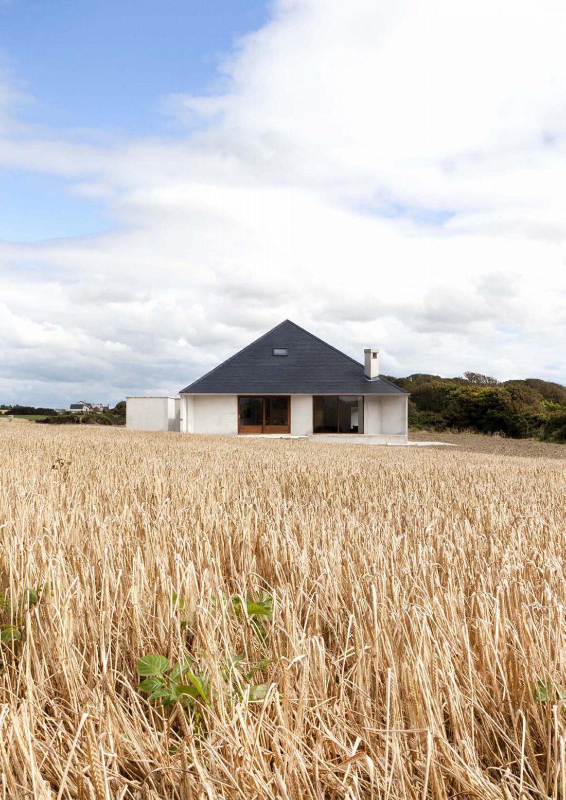 Сельский дом в Kilmore, Ирландия, от студии GKMP Architects 10