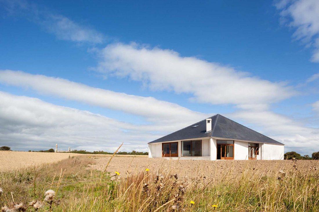 Сельский дом в Kilmore, Ирландия, от студии GKMP Architects 8