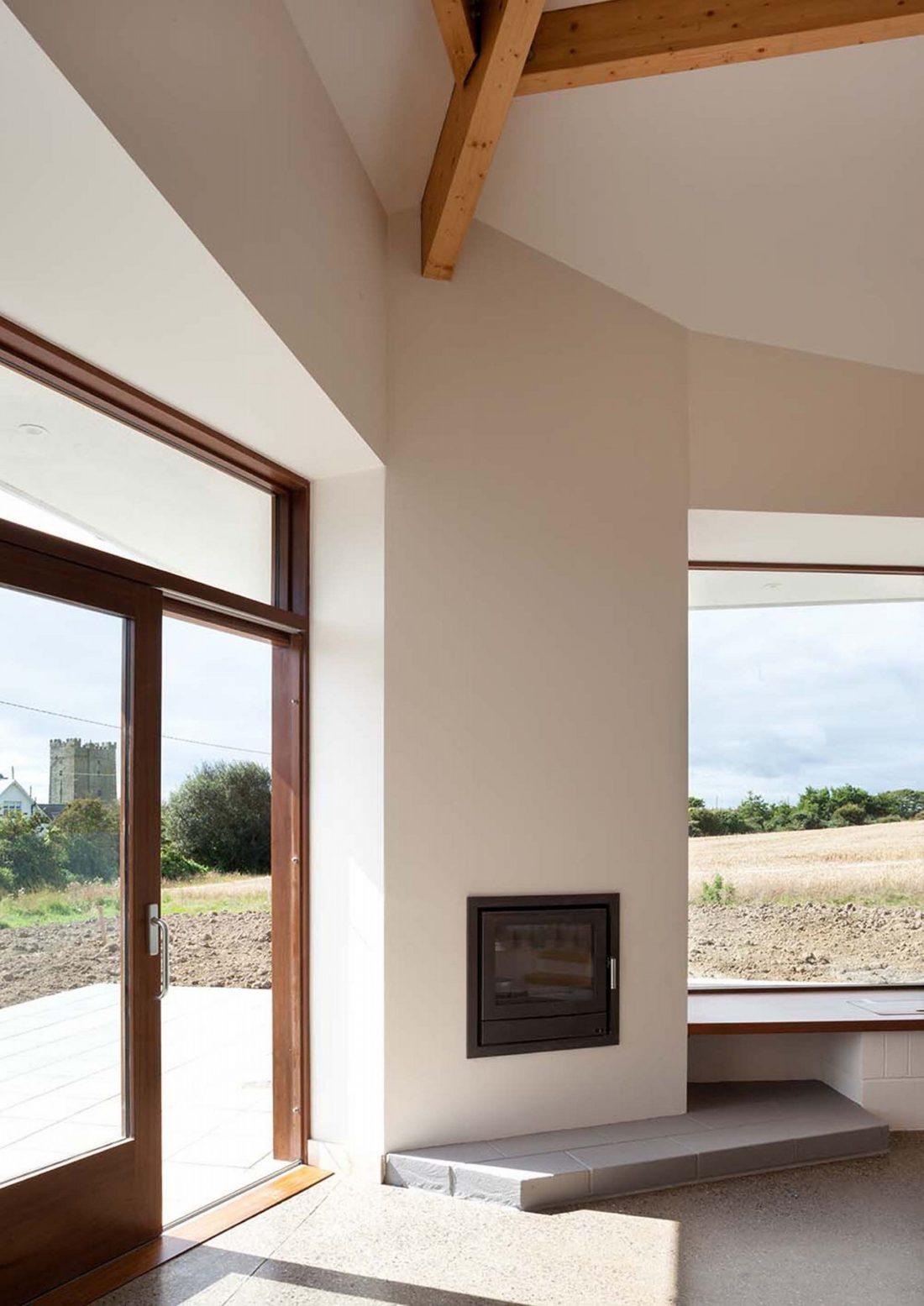 Сельский дом в Kilmore, Ирландия, от студии GKMP Architects 9