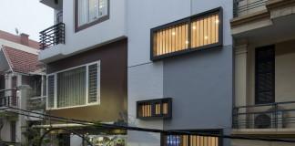 Блочный дом QT House в Ханое по проекту студии Landmak Architecture