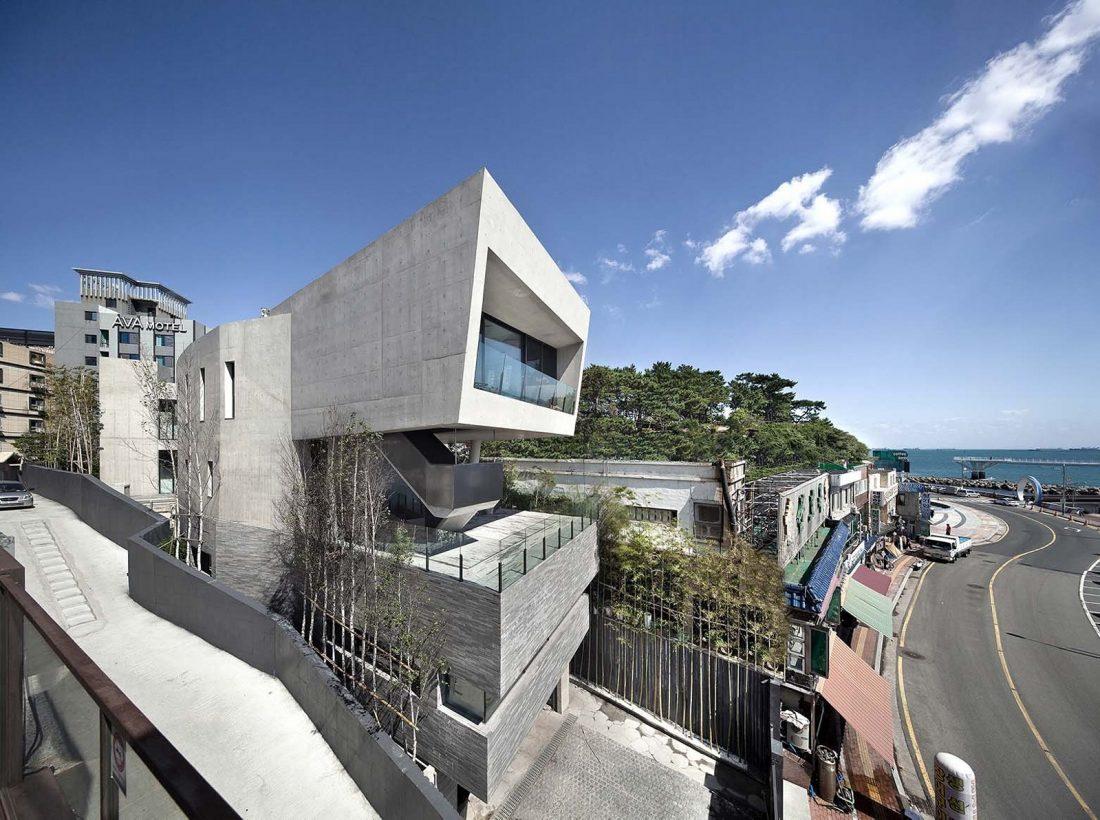 Дом Songdo в Южной Корее по проекту студии Аrchitect-K 2
