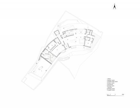 Дом Songdo в Южной Корее по проекту студии Аrchitect-K — План 2