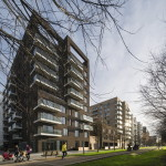Жилой комплекс Greenwich Peninsula Riverside в Лондоне по проекту C.F. Moller 1