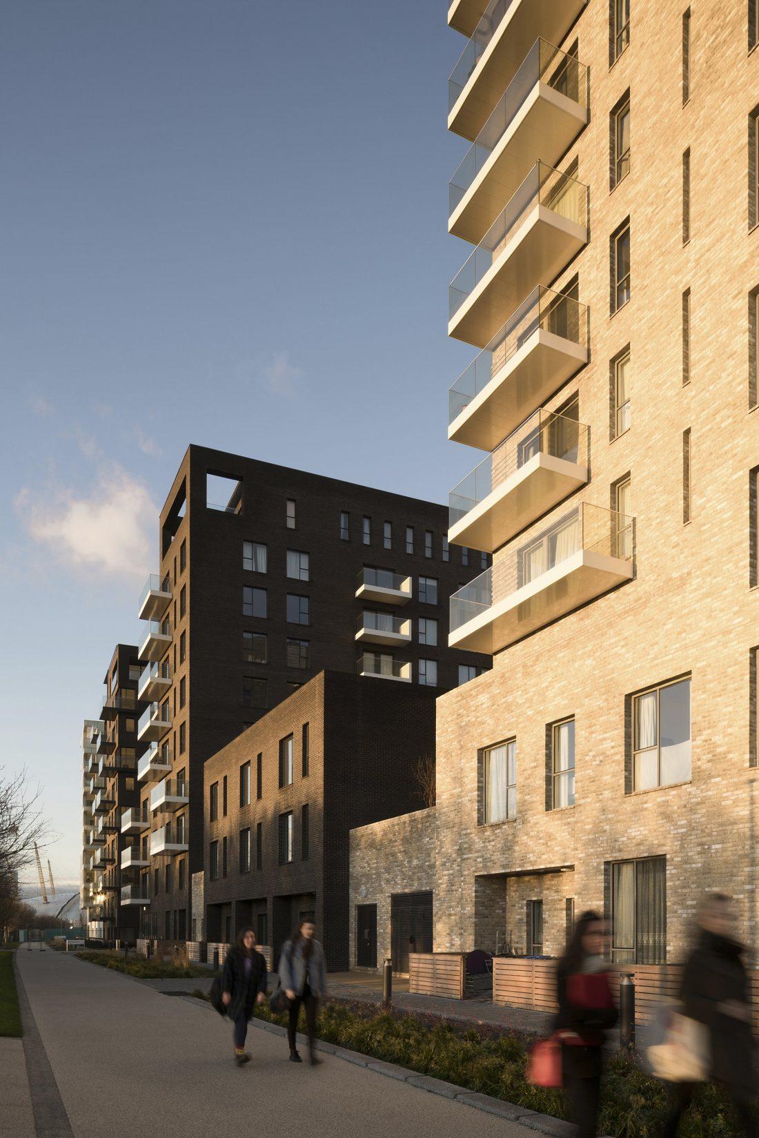 Жилой комплекс Greenwich Peninsula Riverside в Лондоне по проекту C.F. Moller 10