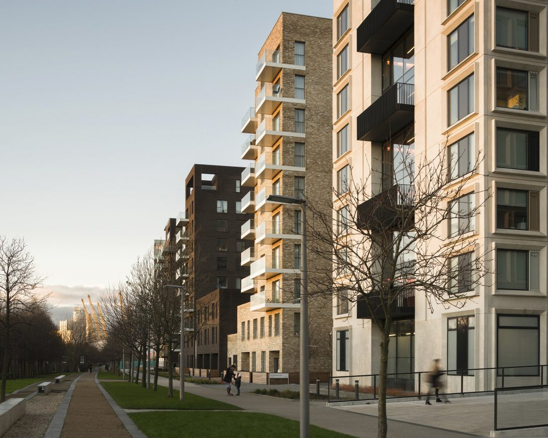 Жилой комплекс Greenwich Peninsula Riverside в Лондоне по проекту C.F. Moller 12