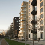 Жилой комплекс Greenwich Peninsula Riverside в Лондоне по проекту C.F. Moller 12