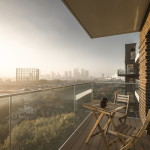 Жилой комплекс Greenwich Peninsula Riverside в Лондоне по проекту C.F. Moller 15