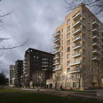 Жилой комплекс Greenwich Peninsula Riverside в Лондоне по проекту C.F. Moller 2