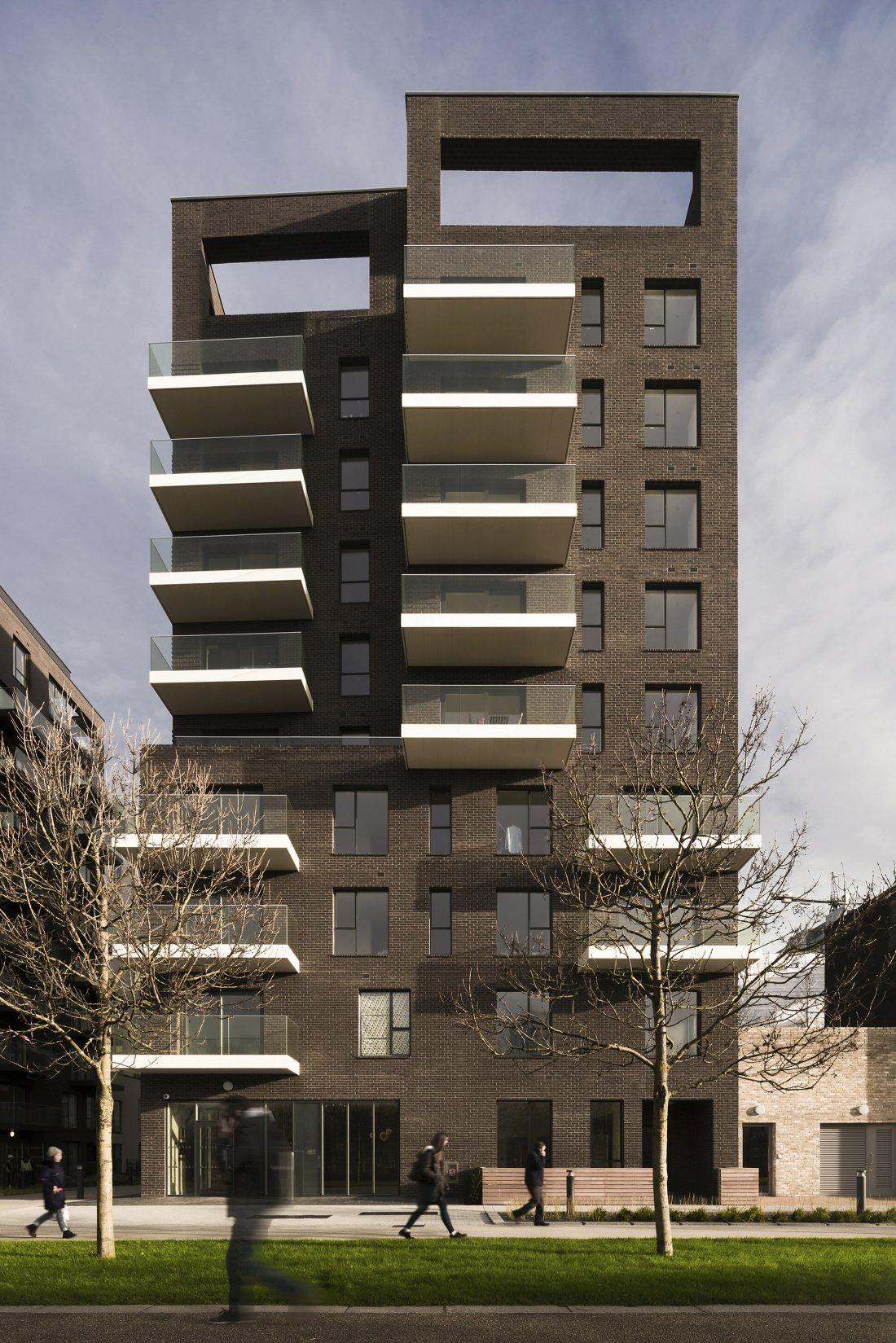 Жилой комплекс Greenwich Peninsula Riverside в Лондоне по проекту C.F. Moller 6