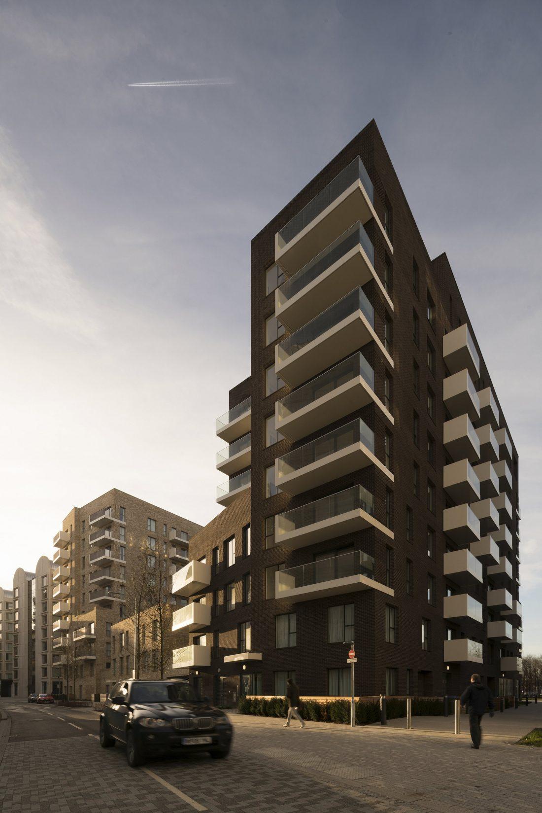 Жилой комплекс Greenwich Peninsula Riverside в Лондоне по проекту C.F. Moller 7