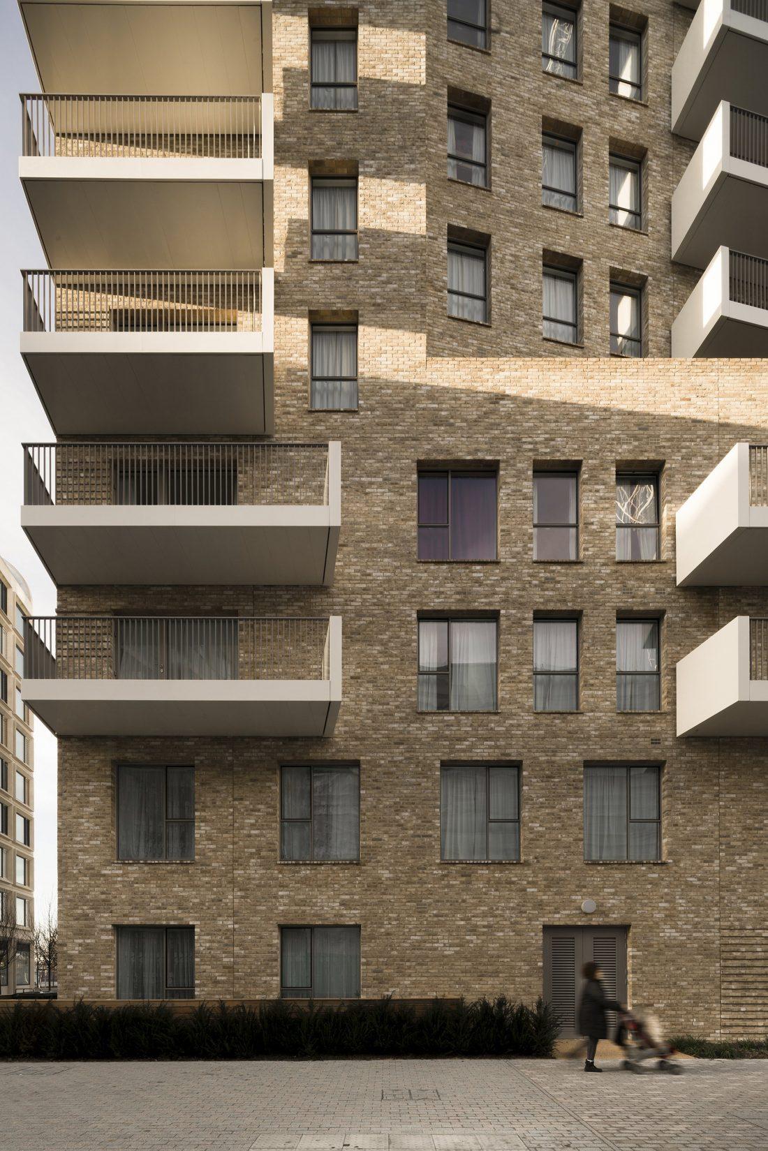 Жилой комплекс Greenwich Peninsula Riverside в Лондоне по проекту C.F. Moller 9