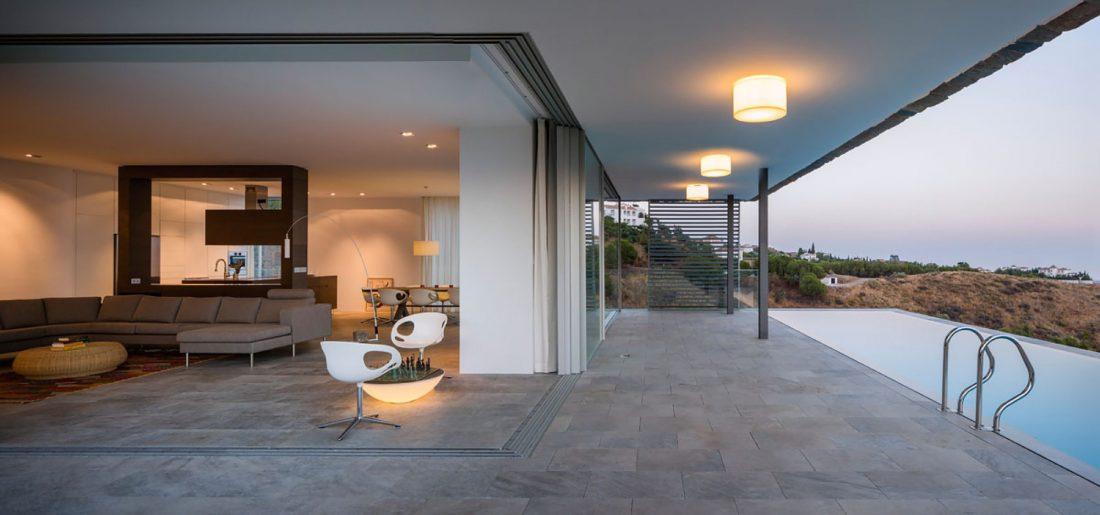 Дом El Meandro в Испании по проекту студии Marion Regitko 12