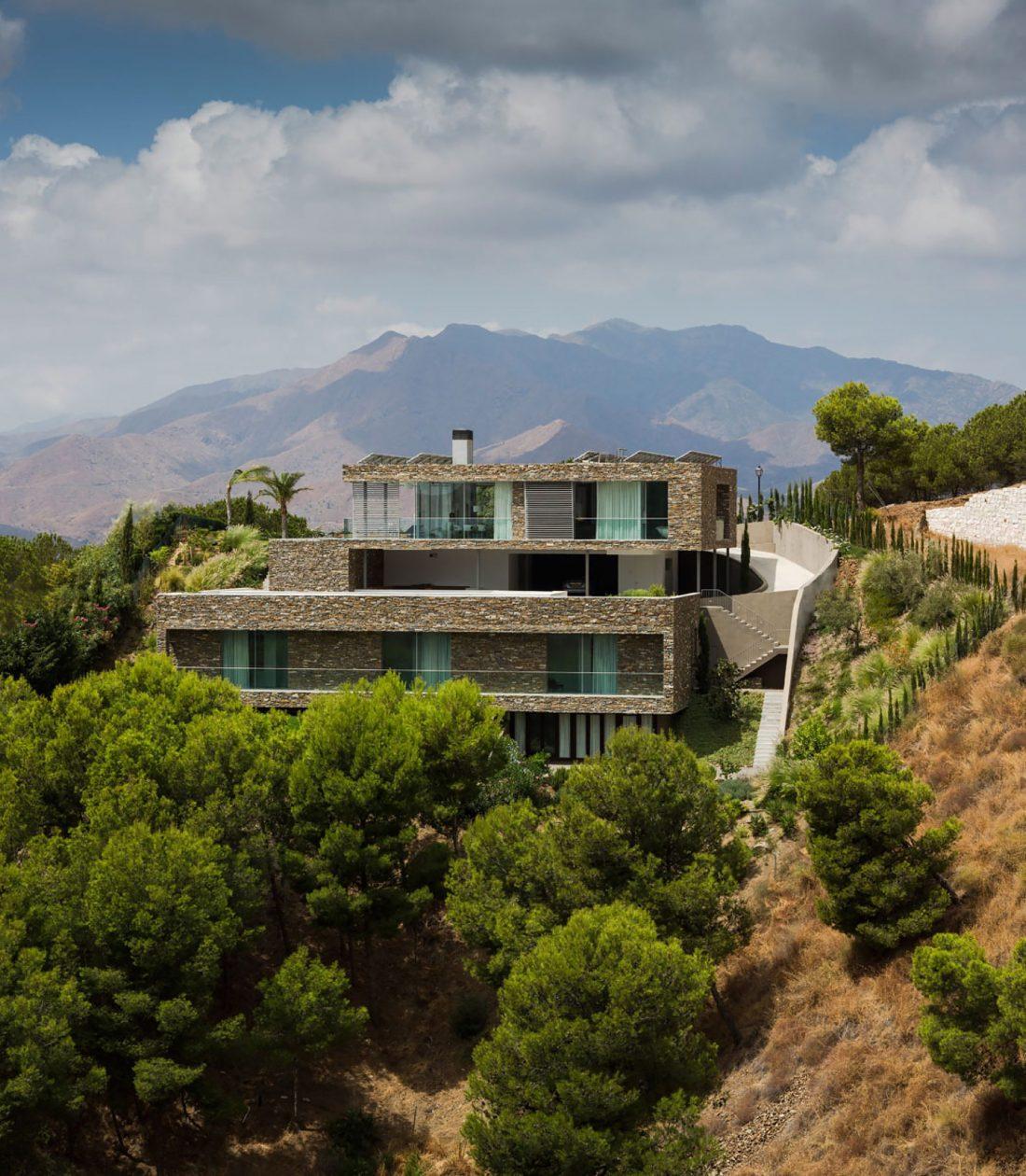 Дом El Meandro в Испании по проекту студии Marion Regitko 23