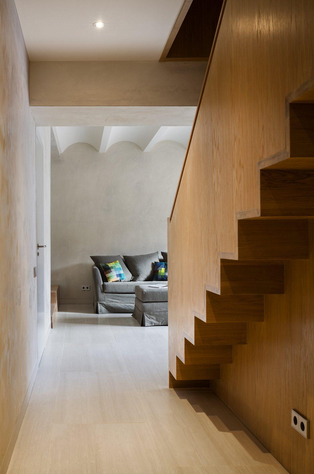 Дуплекс в Барселоне, по проекту студии Zest Architecture 9