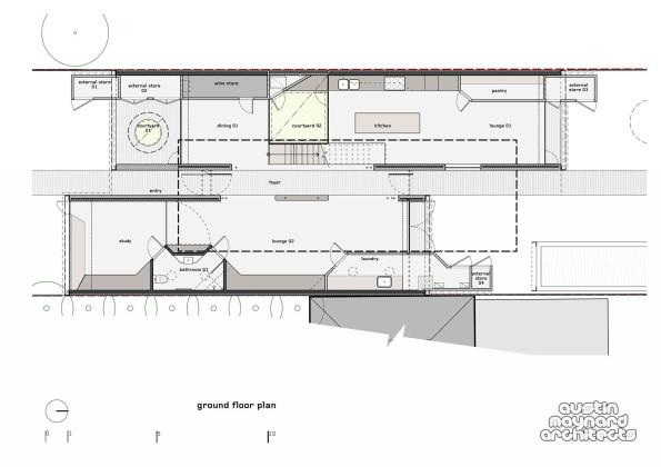 Экологичный дом THAT House в Австралии План 3