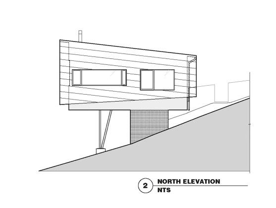 Гостевой дом в Калифорнии по проекту Schwartz and Architecture План 2