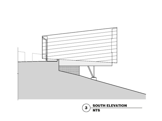 Гостевой дом в Калифорнии по проекту Schwartz and Architecture План 3