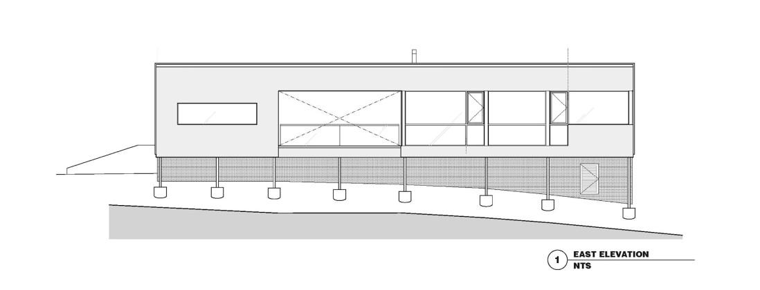 Гостевой дом в Калифорнии по проекту Schwartz and Architecture План 4