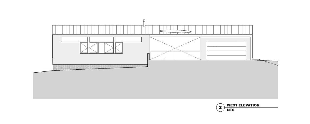 Гостевой дом в Калифорнии по проекту Schwartz and Architecture План 5