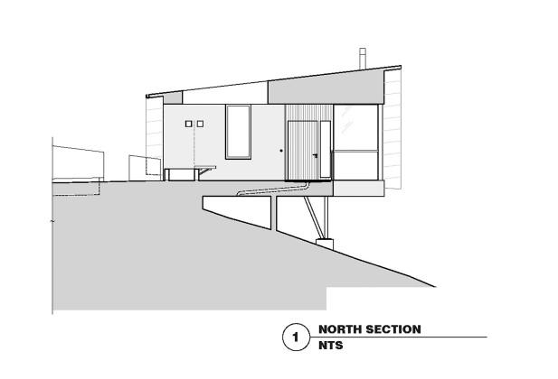 Гостевой дом в Калифорнии по проекту Schwartz and Architecture План 6