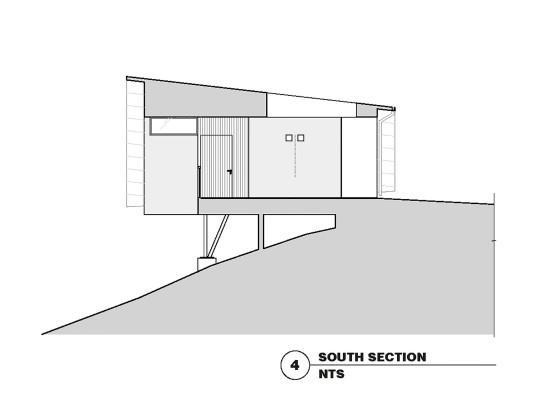 Гостевой дом в Калифорнии по проекту Schwartz and Architecture План 7
