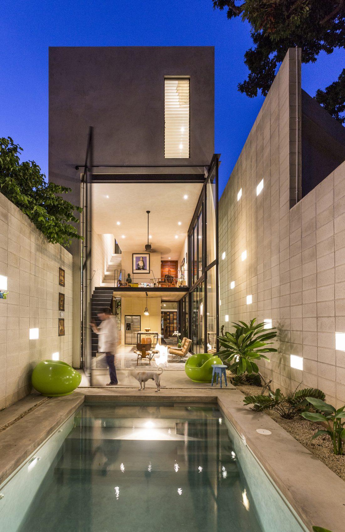 Обнаженный дом в Мексике от студии Taller Estilo Arquitectura 1