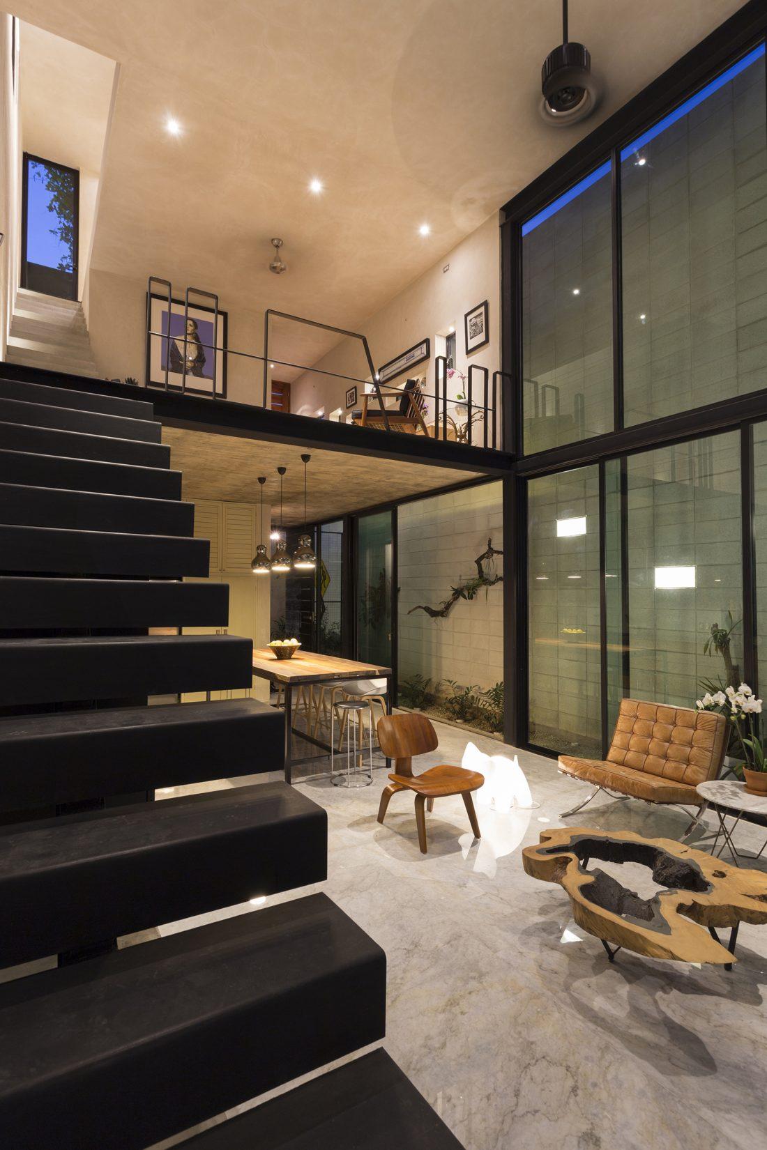 Обнаженный дом в Мексике от студии Taller Estilo Arquitectura 10
