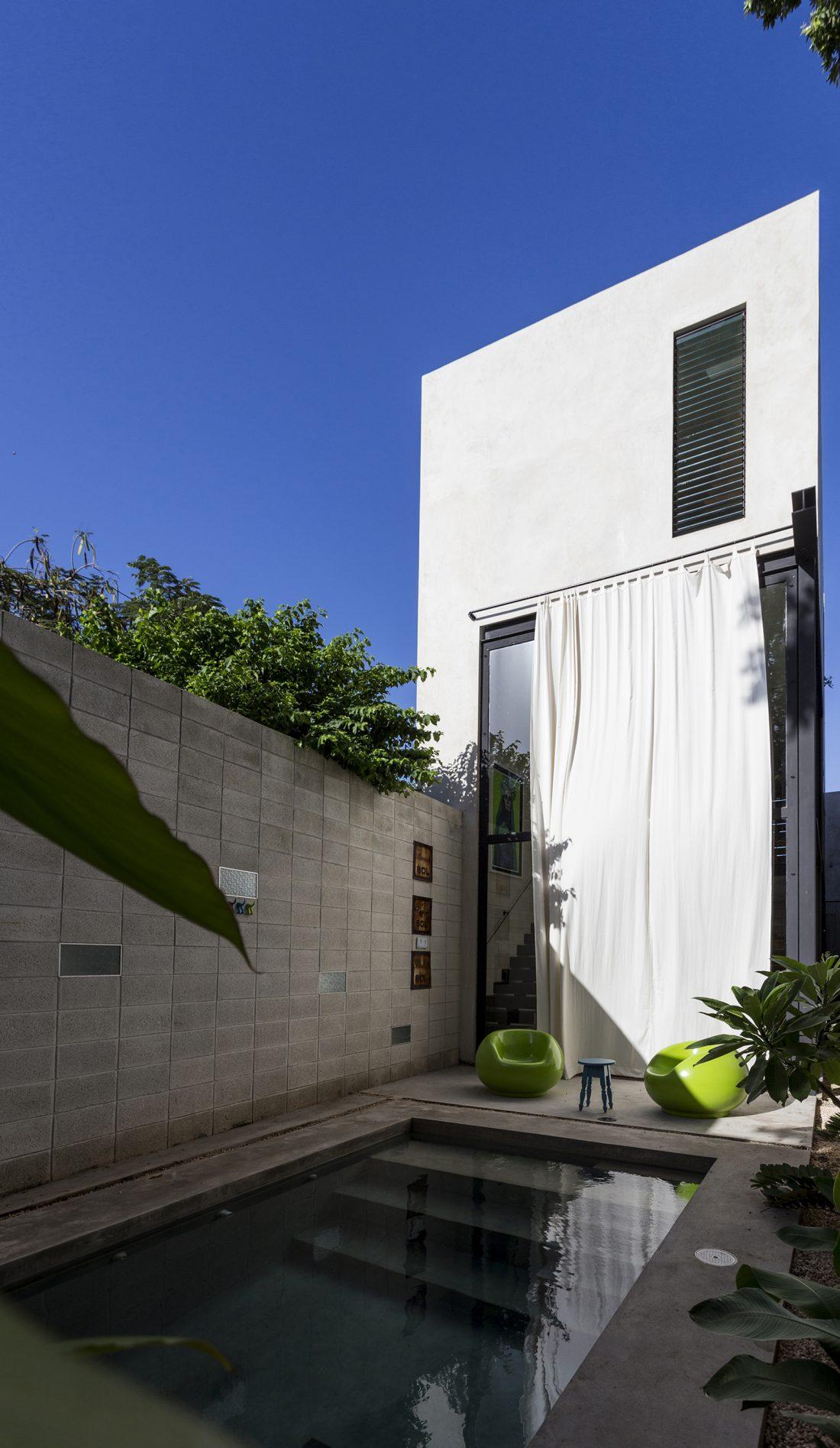 Обнаженный дом в Мексике от студии Taller Estilo Arquitectura 12