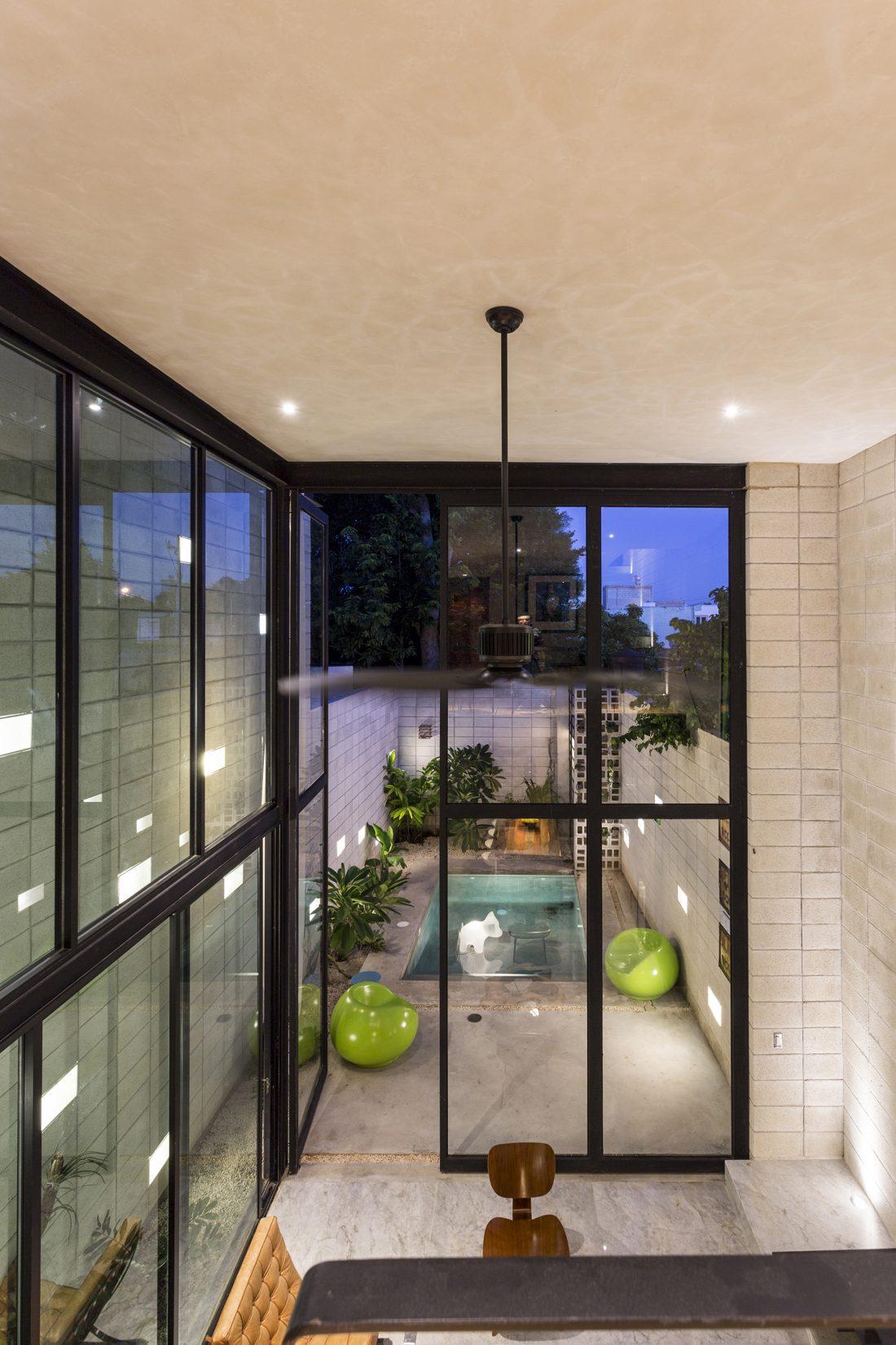 Обнаженный дом в Мексике от студии Taller Estilo Arquitectura 14