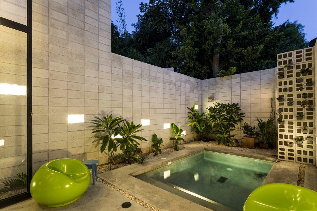 Обнаженный дом в Мексике от студии Taller Estilo Arquitectura 17