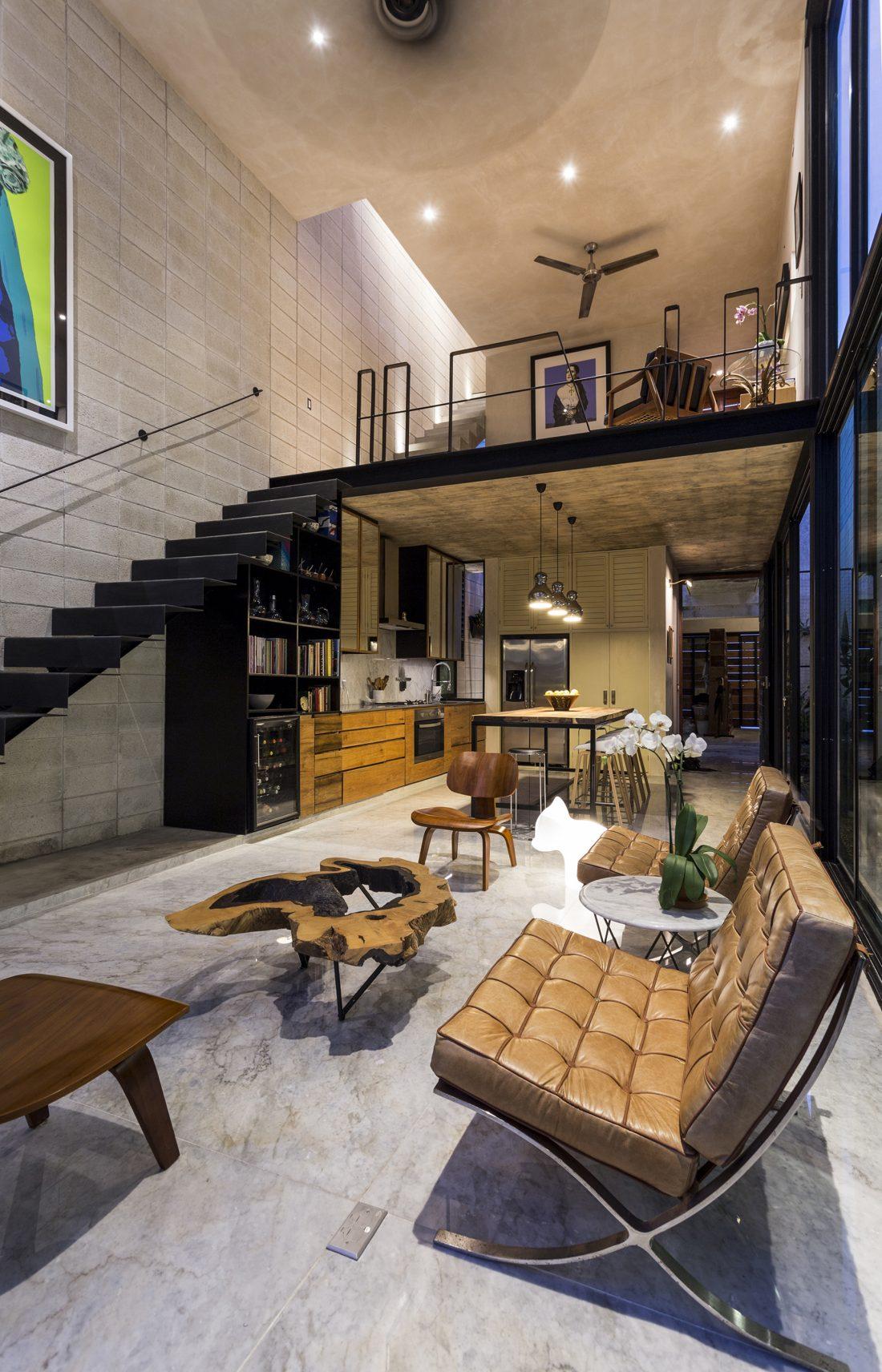 Обнаженный дом в Мексике от студии Taller Estilo Arquitectura 21