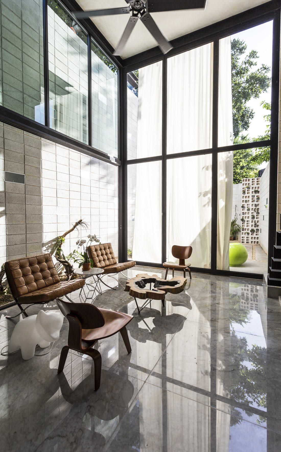 Обнаженный дом в Мексике от студии Taller Estilo Arquitectura 7