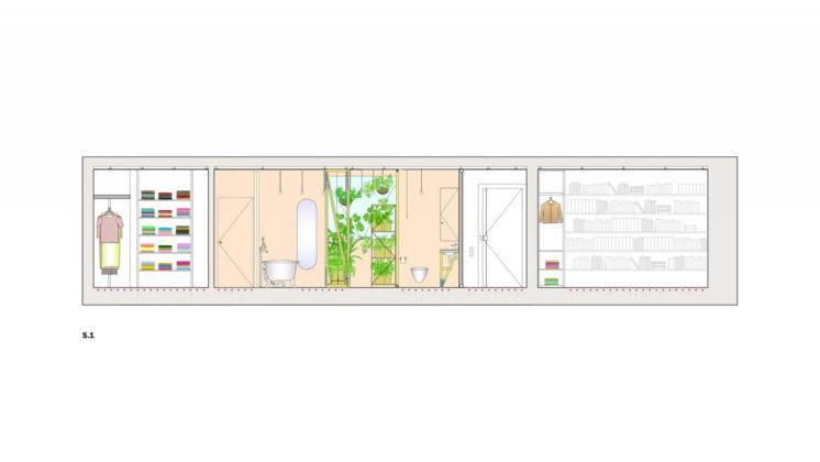 Реконструкция старинного дома в Мадриде План 1