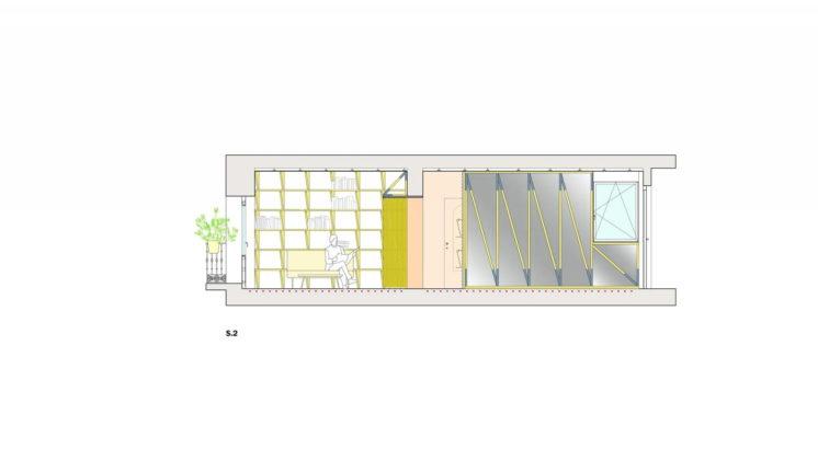 Реконструкция старинного дома в Мадриде План 2